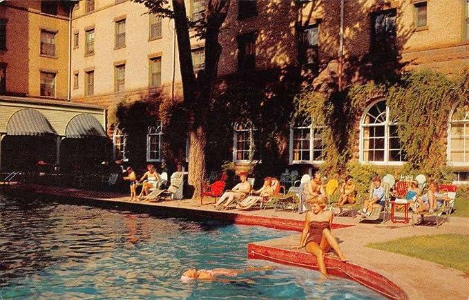 Amazoncom Glenwood Springs Colorado Hotel Pool View Vintage