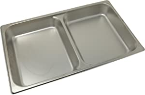 Winco SPFD2 2-1/2-Inch Divider Food Pan, Full Size
