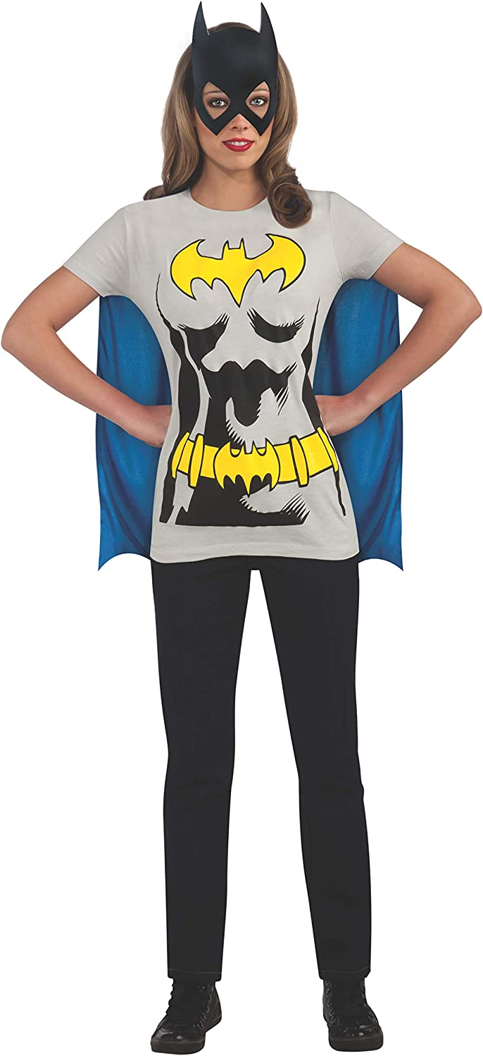 Rubie s Ufficiale da Donna Batman t-Shirt Set Adulto Costume/  / Small