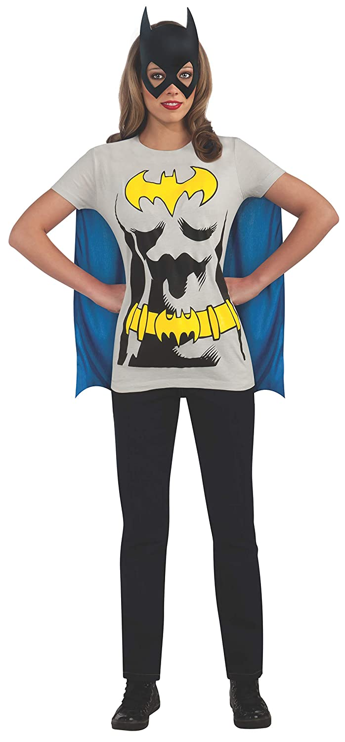 adulto/  / grande Rubie s Costume ufficiale donna Batman t-shirt set