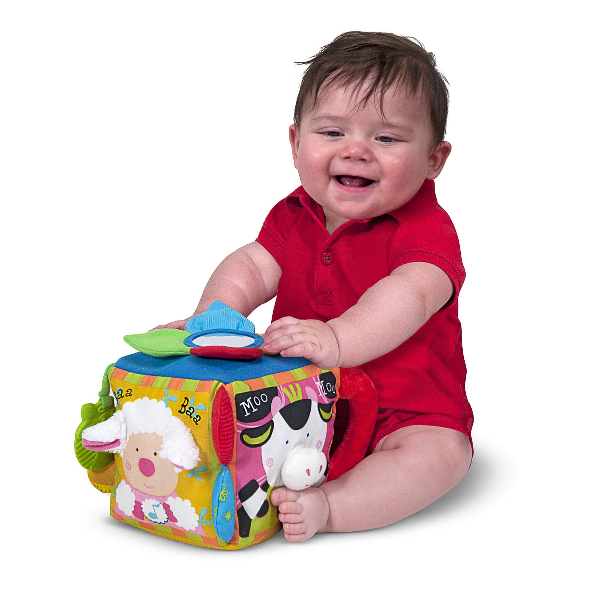 Melissa & Doug K's Kids Musical Farmyard Cube (Educational ...