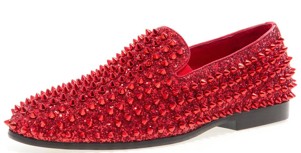 JUMP NEWYORK Men's Luxor Slip On Shoe Red 12 D US