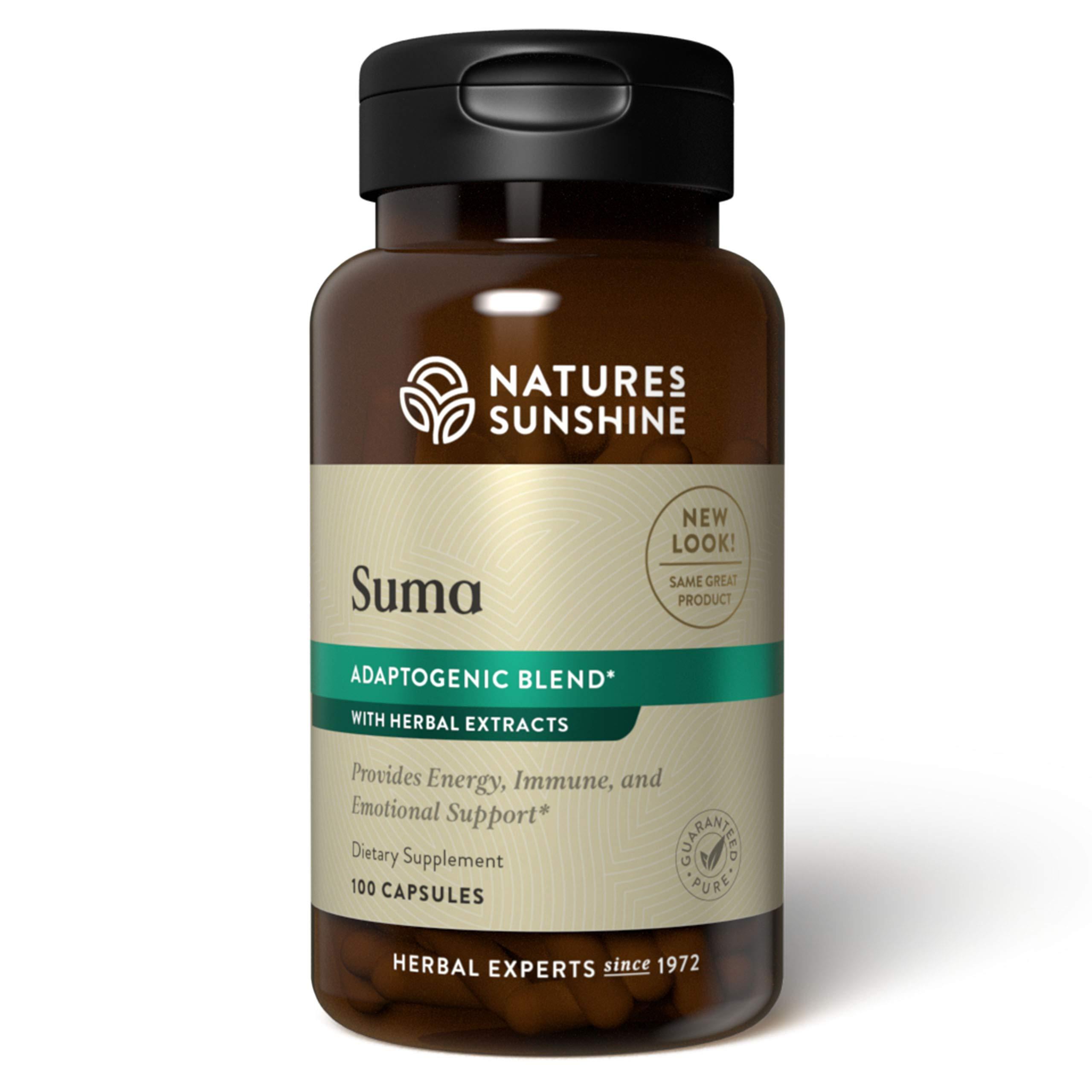 Nature's Sunshine Suma Combination 100 Capsules