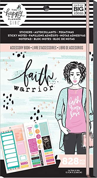 MAMBI The Happy Planner Girl Sticky Notes Faith Warrior