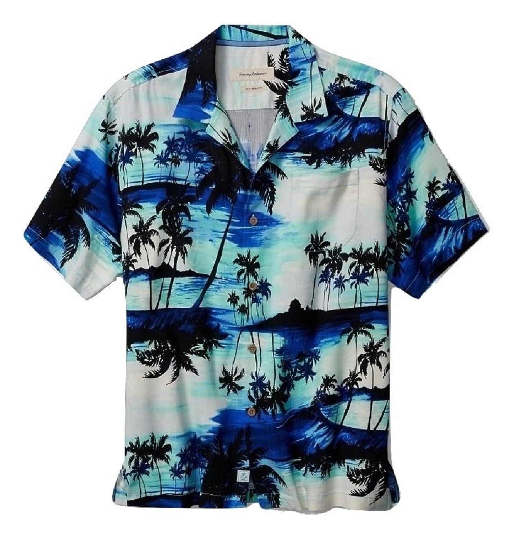 Tommy Bahama Sunset Island Silk Camp Shirt