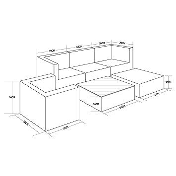 Alices Garden - Muebles de Jardin, Conjunto Sofa de ...