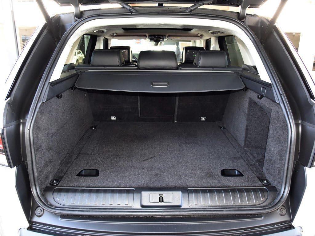 AILZNN Car Rear Cargo Boot Liner Trunk Floor Mat For Range Rover Sport 2014-2020 Heavy Duty Rubber Durable Black Trunk Carpet Tray Mat Waterproof Protector