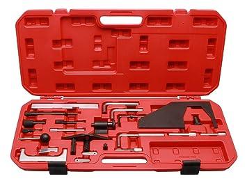 Maletín con herramientas para correa de distribución de vehículos de la marca Ford: Amazon.es: Coche y moto