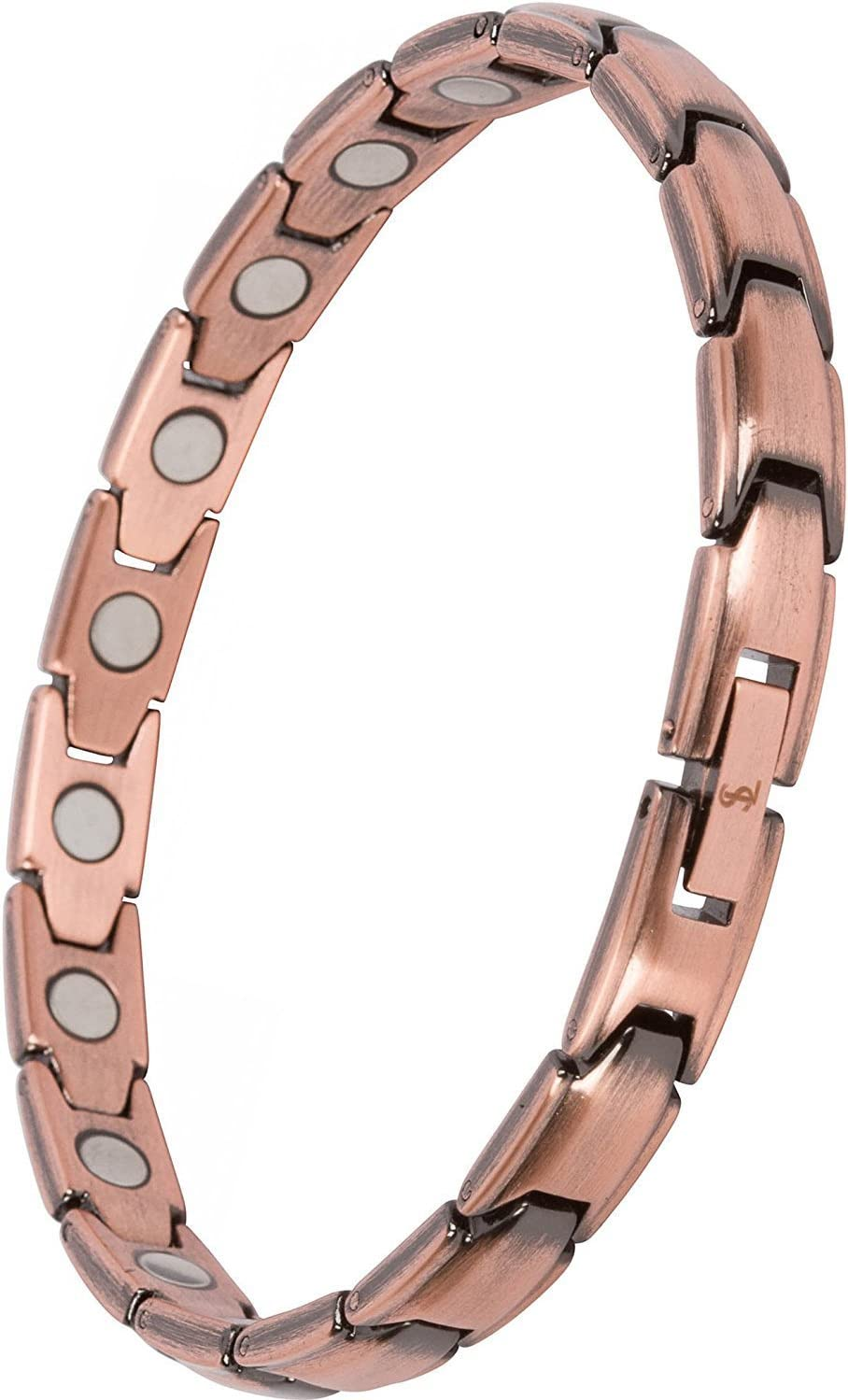 Beautiful Pure Copper Magnetic bracelet women arthritis pain relief balance energy stress anxiety relief gift for her Mother/'s Day gift