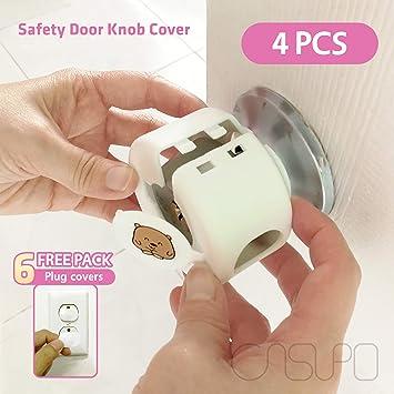 Amazon.com: Casupo - Juego de 4 cubiertas de seguridad para ...