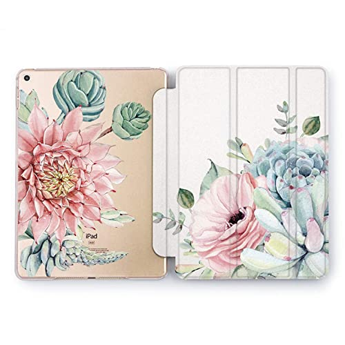 Floral Retro Peony Flowers Smart Case For iPad Pro 12.9 11 10.5 9.7 Air Mini 3 5