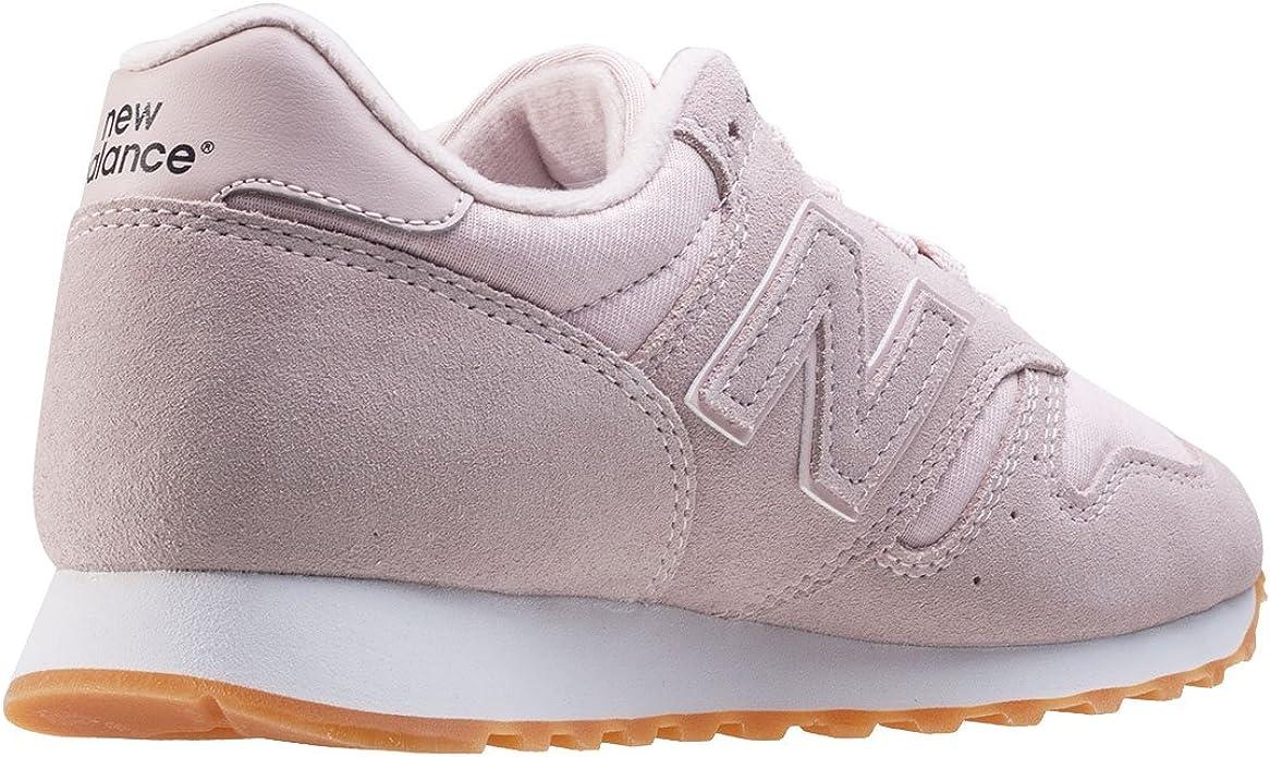new balance 373 gris y rosa