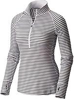 Mountain Hardwear Women's Butterlicious Stripe Long Sleeve 1/2 Zip
