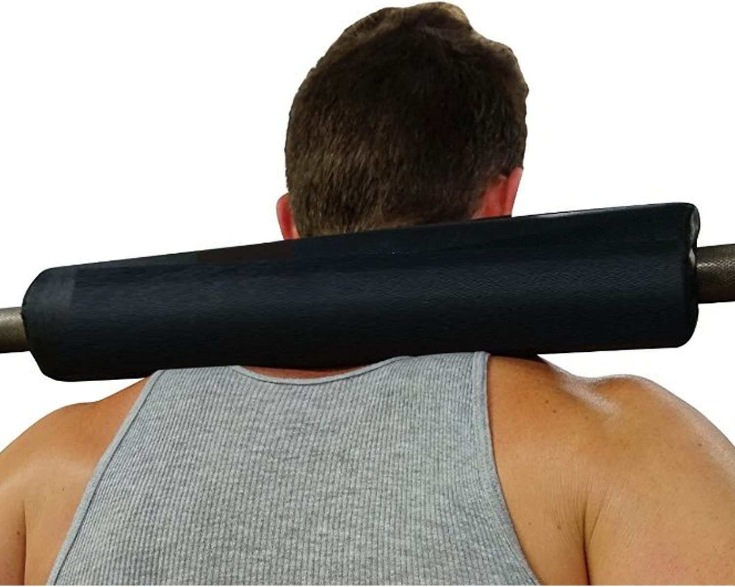 Dark Iron Fitness 17 Extra Thick Barbell Neck Pad Shoulder Support for Weight Lifting Crossfit Powerlifting /& More Fits 2 Inch Olympic Size Bars and a Smith Machine Bar Perfectly