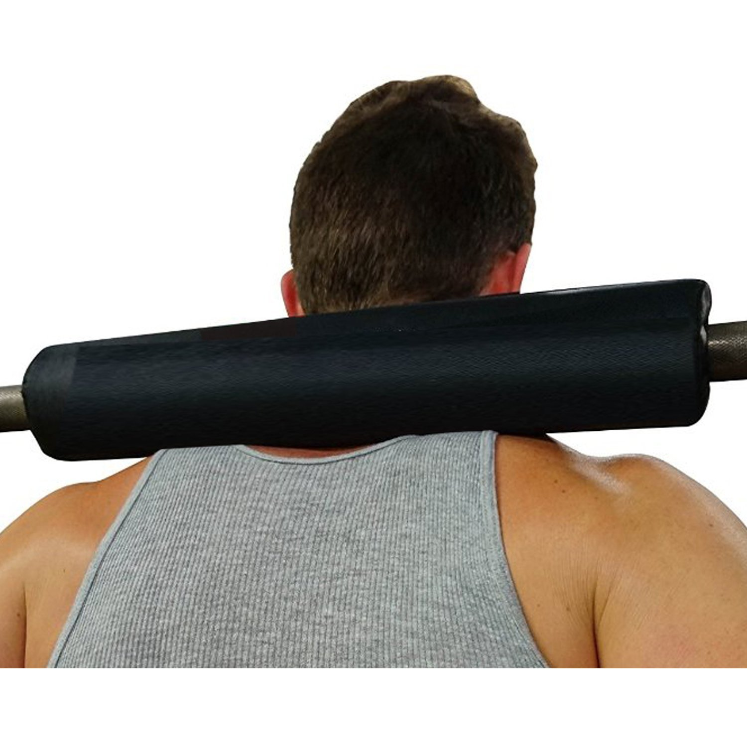 Dark Iron Fitness 15 Inch Extra Thick Barbell Neck Pad – Shoulder Support for Weight Lifting Crossfit Powerlifting and…