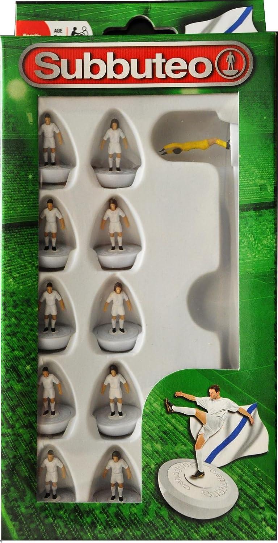 Subbuteo Football Team Set White