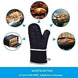 Cuncent Oven Mitt Heat Resistant