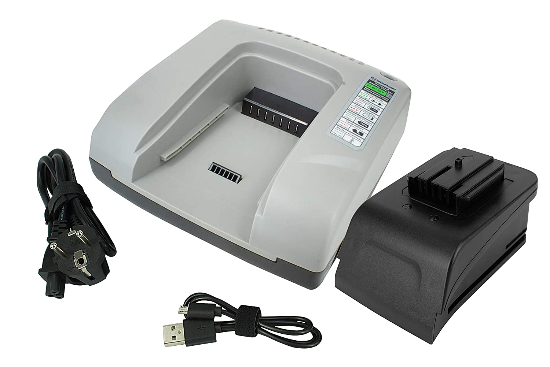 0779-20 PowerSmart/® Chargeur rapide pour Milwaukee 0724-20 48-11-2830 rouge M28 BX