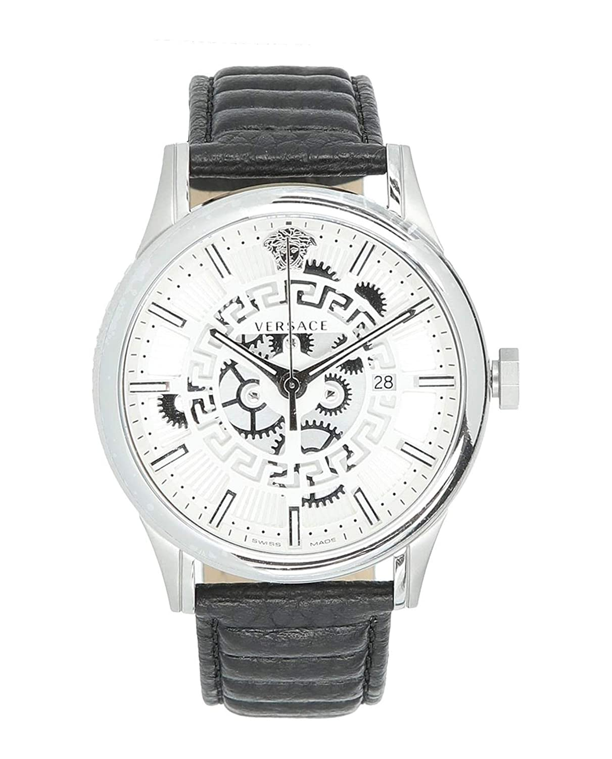 6e15c0db30 Amazon.com: Versace Mens Aiakos Watch VEBS00118: Watches