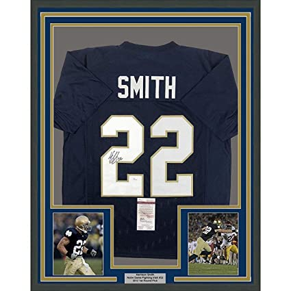Harrison Smith Signed Jersey - FRAMED 33x42 Blue COA - JSA Certified -  Autographed College Jerseys 93e901cf2