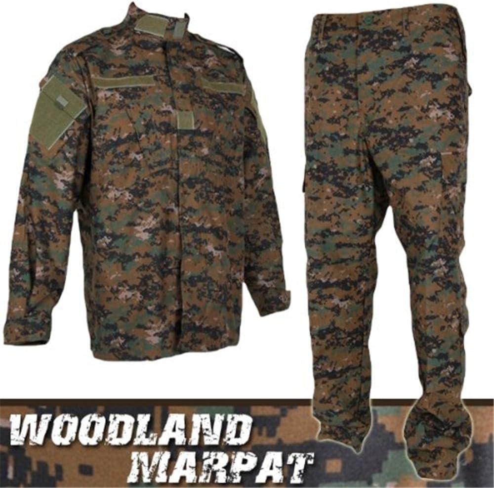 Airsoft Pro estampado militar ejército uniforme Marpat Woodland ...