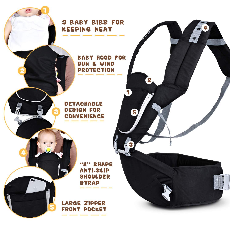 Amazon.com: Baby Hip - Cinturón de seguridad con certificado ...