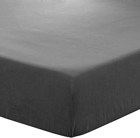 Thermo Fleece Fitted Sheet in various sizes silver-top