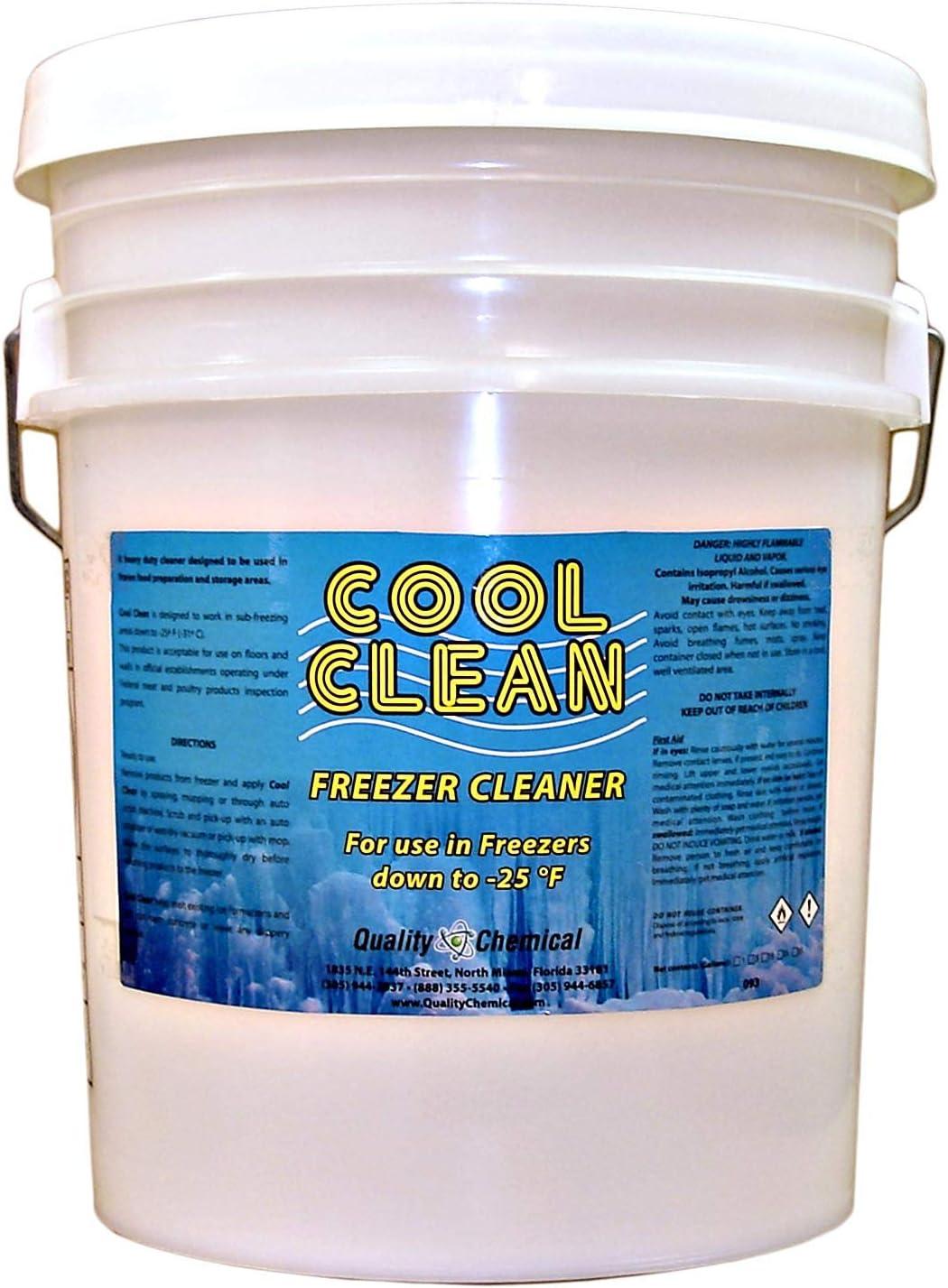 Cool Clean Heavy-Duty Freezer Cleaner-5 gallon pail