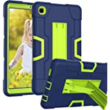 HAII Case for Samsung Galaxy Tab A7 Lite T220/T225, Full Body Rugged Kids Case with Kickstand Heavy Duty Shockproof Drop-Proo