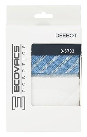 Ecovacs D-S733 Set de mopa limpieza Plastic, Blanco y azul: Amazon.es: Hogar