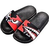 Kids Summer Slipper Dragon Smoke House Slippers Shower Slide Anti-Slip Beach Pool Bath Sandals for Boys Girls