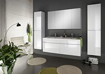Designer badmöbel  SAM® Design Badmöbel-Set, 140 cm, in weiß, 4tlg. Designer ...