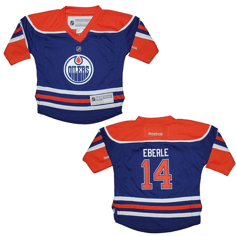 reputable site f05e2 229f7 Amazon.com: Reebok Jordan Eberle Edmonton Oilers Blue NHL ...