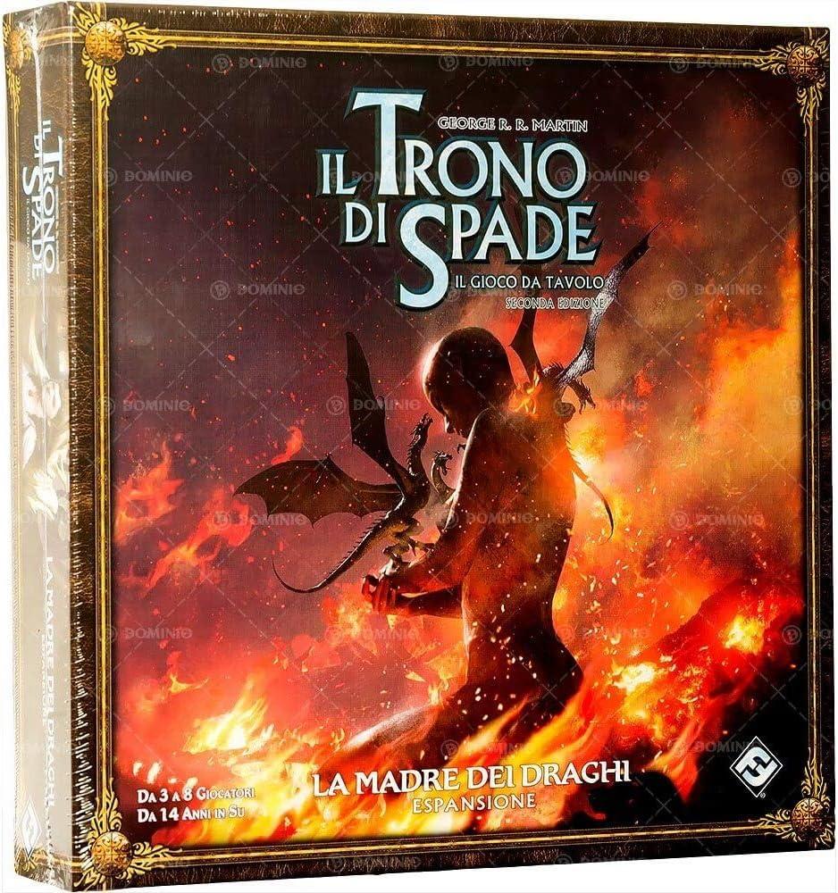 Asmodee Italia El Juego de Tronos El Juego de Mesa 2nd Edición, la Madre de los Dragones, Color, 9076