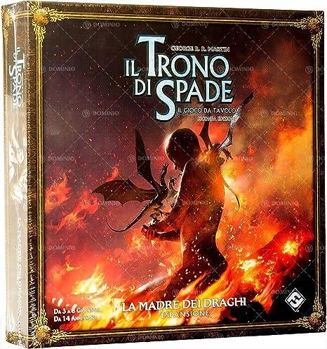 Asmodee Italia El Juego de Tronos El Juego de Mesa 2nd Edición, la Madre de los Dragones, Color, 9076: Amazon.es: Juguetes y juegos