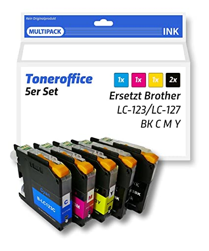 Cartuchos de impresora Brother LC 123, compatible, sustituye ...