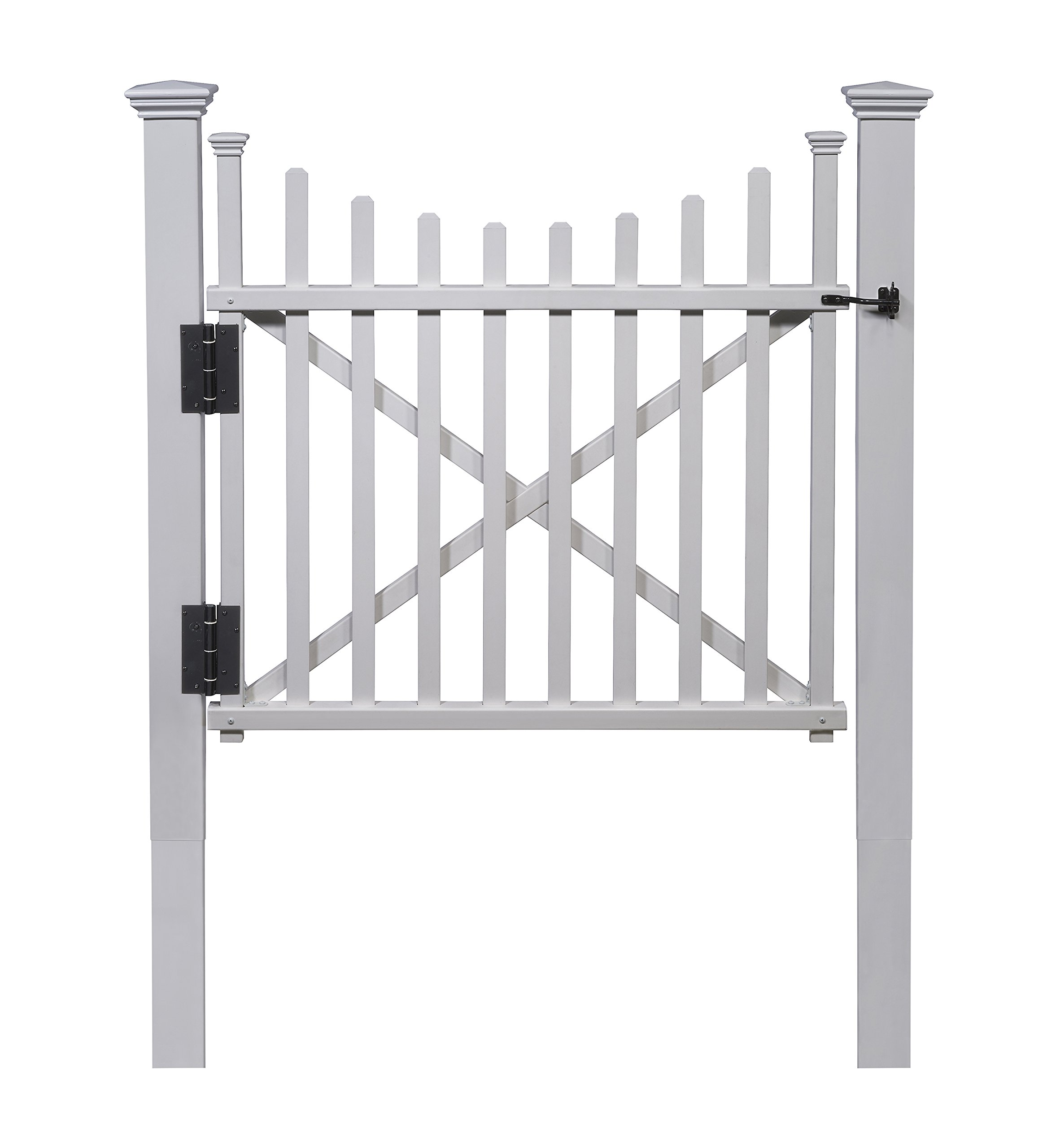 Zippity Outdoor Products ZP19019 Manchester Vinyl Gate by Zippity Outdoor Products