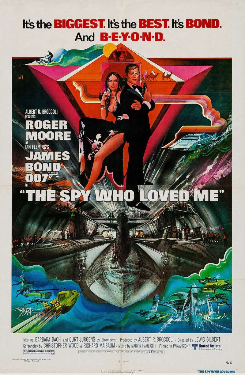 Image result for the spy who loved me poster
