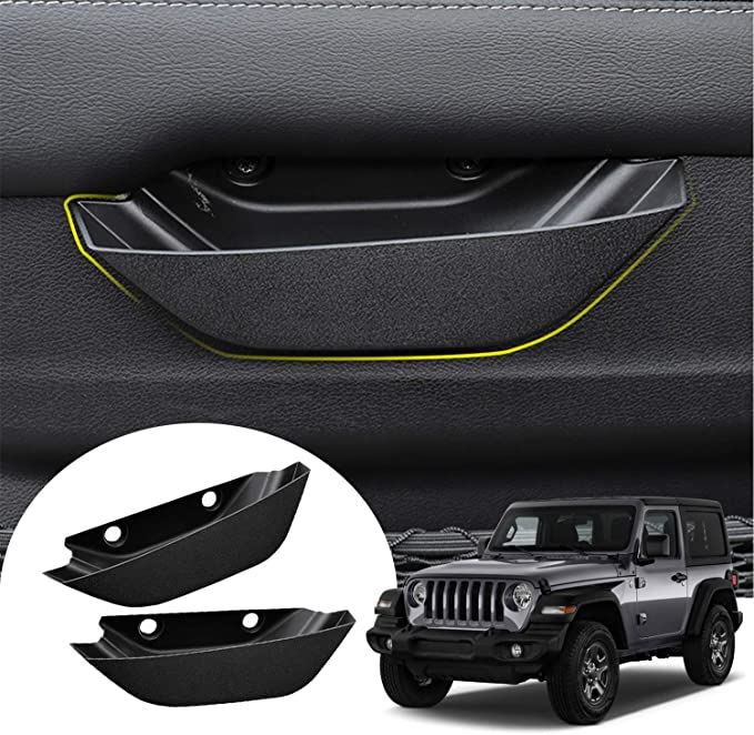 CDEFG for 2020 Escape Accessories Front Row Door Side Storage Box Handle Pocket Armrest Phone Container 2PCS for 2 Doors