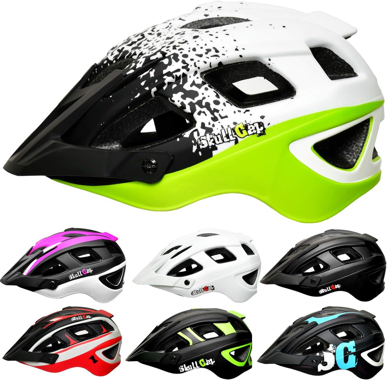 SkullCap® Casco Bicicleta Adulto Montaña MTB - Hombre e Mujer