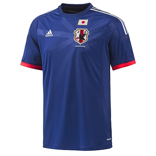 check out 0f157 81dab Amazon.com : Adidas Japan Home Jersey World Cup 2014 (L ...