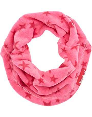 bcca67f70 Playshoes Girl's Warmer Kinder Fleece-schlauchschal Sterne Scarf