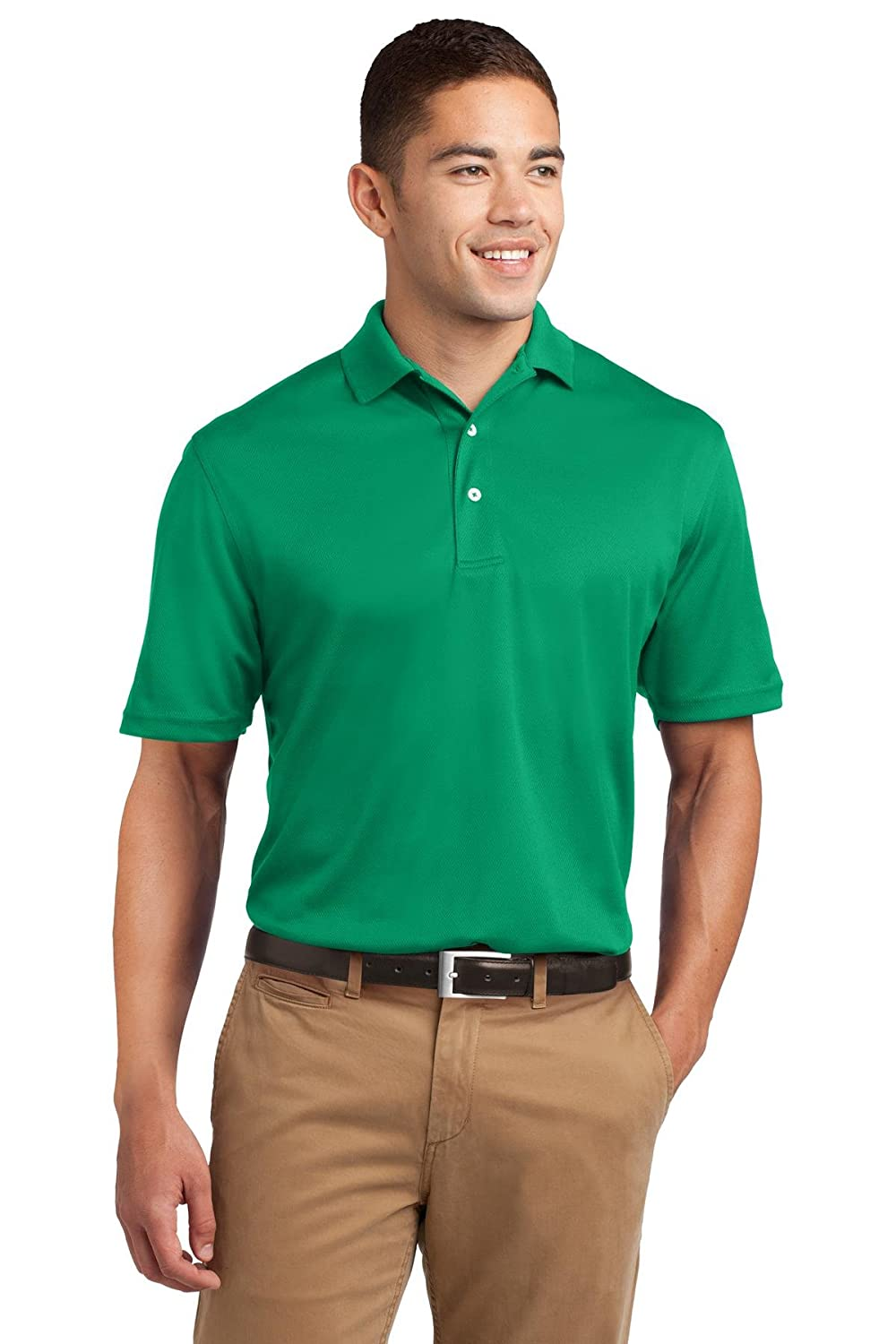Amazon Sport Tek Mens Dri Mesh Polo Sports Outdoors