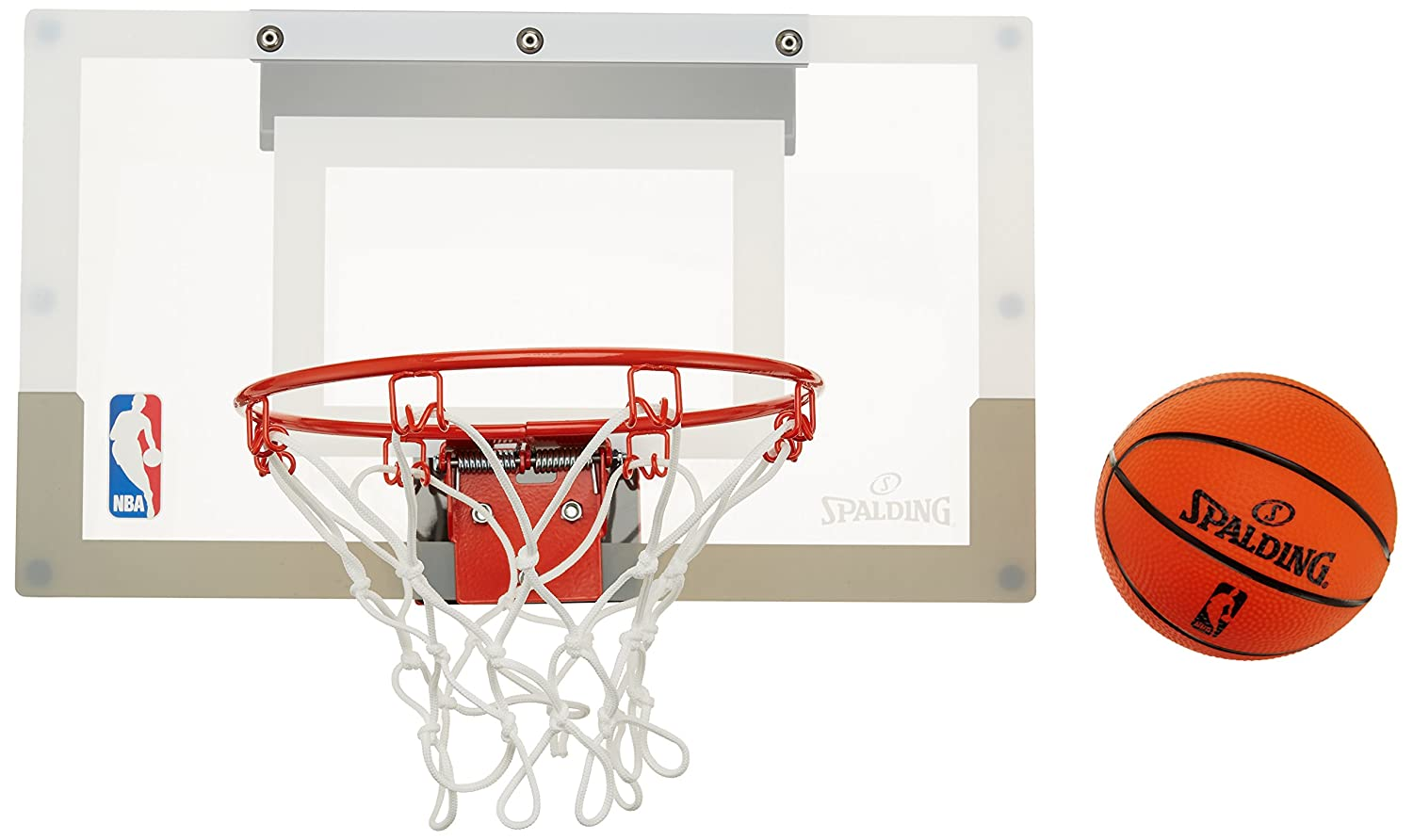 Spalding NBA Slam Jam Board Tablero de pared de baloncesto color incoloro