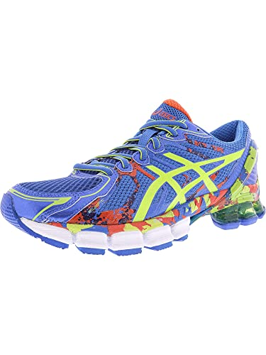 timeless design 86e68 d3a7f Amazon.com   ASICS Men s Gel-Sendai 2 Electric Blue Lime Cherry Tomato  Ankle-High Running Shoe - 7.5M   Running