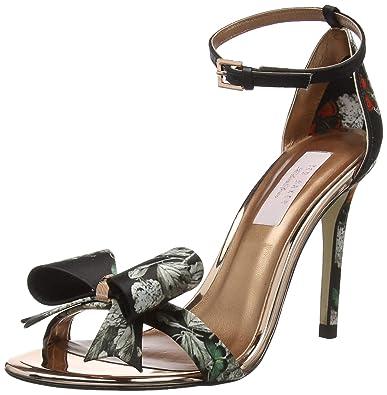 8d5f9ba8e5ce Ted Baker London Women s Bowdalp Open Toe Sandals  Amazon.co.uk ...