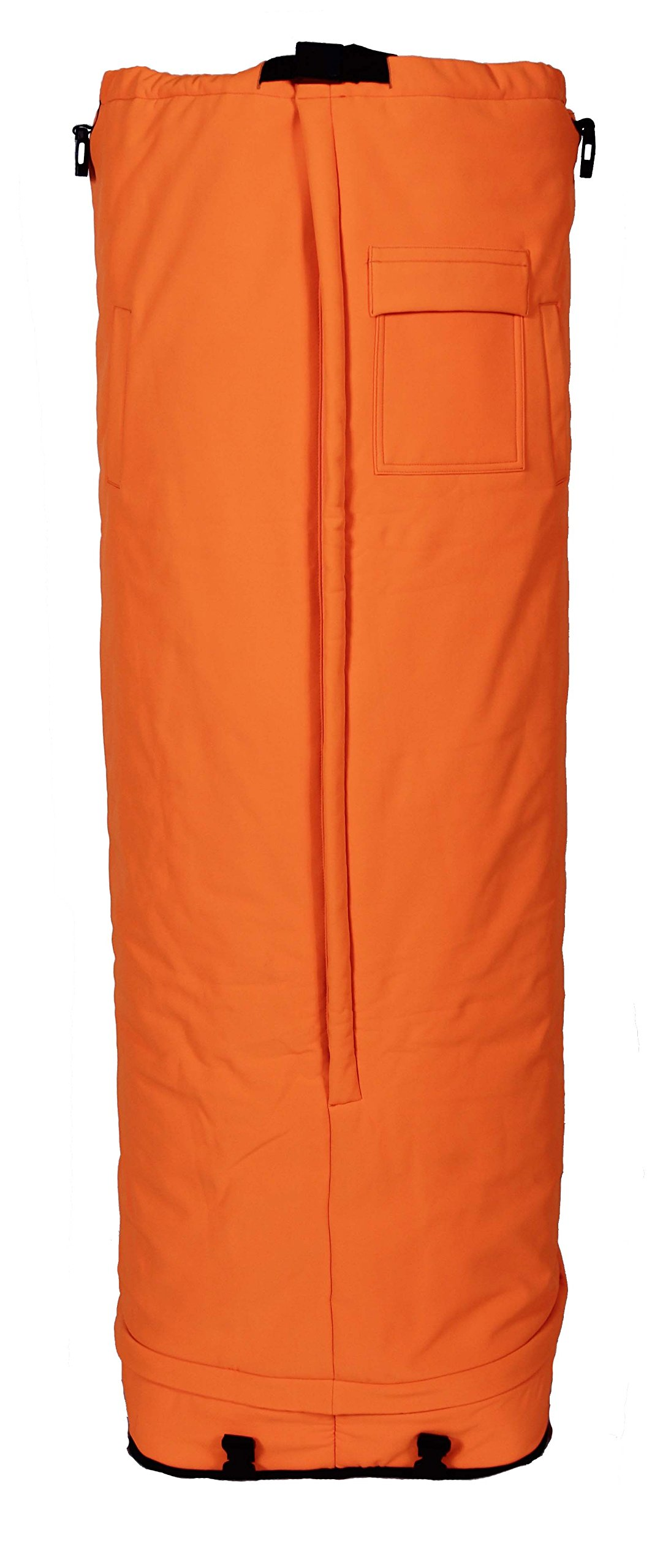 Half in the Bag Heat Retention System, Blaze Orange, 48'' (Large) - Perfect for Hunting Stands or Outdoor Stadiums by Half in the Bag