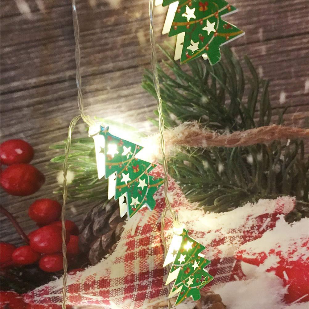 BESTOYARD Weihnachtsbaum String Licht LED Lichter Weihnachten Licht ...
