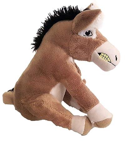 HT TOYS The Wonky Donkey Plush Soft Toy(16cm, Multicolour)
