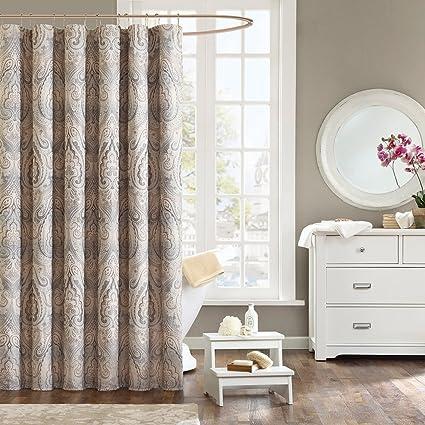 Amazon.com: DS CURTAIN Dierdre Vintage Shower Curtain,Mildew ...